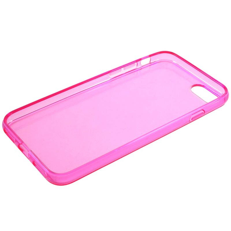 iPhone 7/8/SE (2020) Glossy TPU Case - Hot Pink