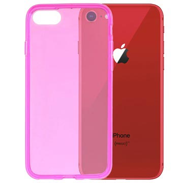 iPhone 7 / iPhone 8 Glossy TPU Case - Hot Pink