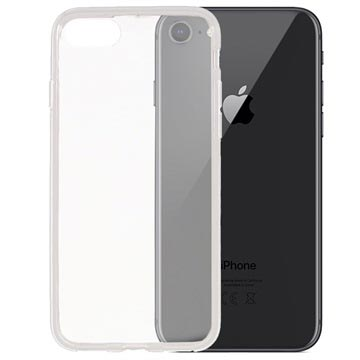 iPhone 7 / iPhone 8 Glossy TPU Case - Transparent