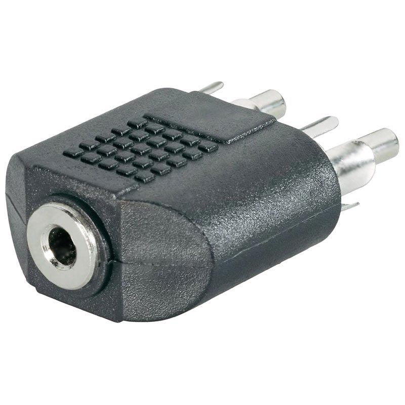 Goobay 3.5mm / 2 x RCA Audio Adapter