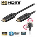 Goobay High Speed HDMI Cable with Ethernet - Rotatable - 3m