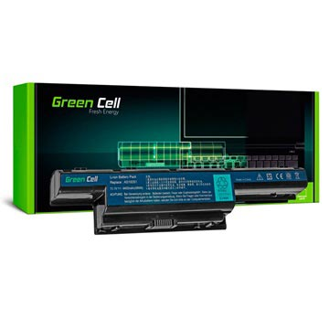 Green Cell Battery - Acer Aspire, TravelMate, Gateway, P.Bell EasyNote - 4400mAh
