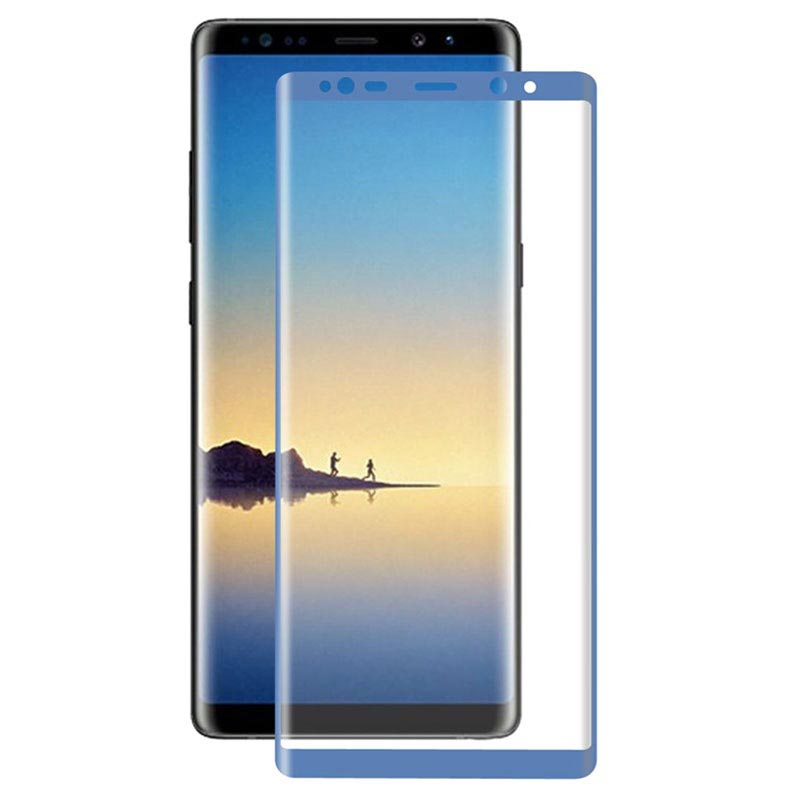 Samsung Galaxy Note 8 Hat Prince 3D Full Size Tempered Glass - Blue