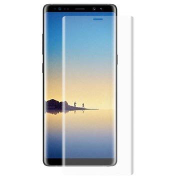Samsung Galaxy Note 8 Hat Prince 3D Full Size Tempered Glass - Transparent