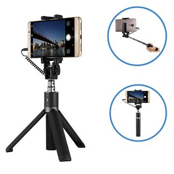 Huawei AF14 Wired Selfie Stick & Tripod Stand 02452342 - Black