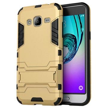 Samsung Galaxy J3 (2016) Hybrid Case - Gold