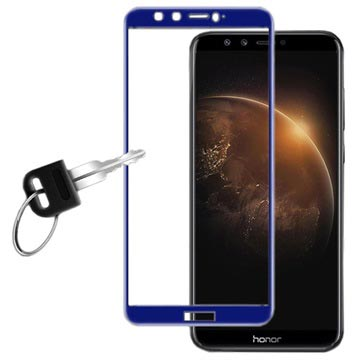 Huawei Honor 9 Lite Imak Full Cover Tempered Glass - Blue