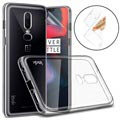 Imak Stealth OnePlus 6 TPU Case with Screen Protector - Transparent