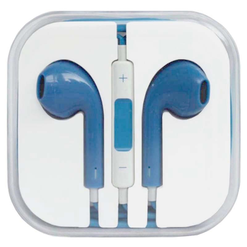 In-ear Headset - iPhone, iPad, iPod - Blue