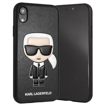 Karl Lagerfeld Ikonik Collection iPhone XR Case - Black