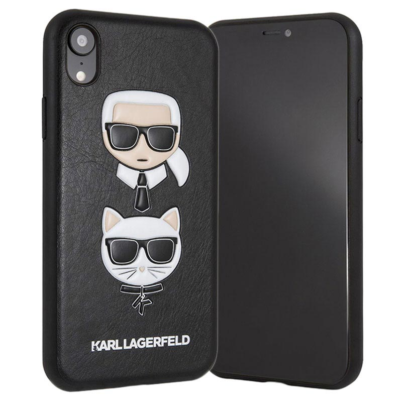 Karl Lagerfeld Karl & Choupette iPhone XS Max Case - Black