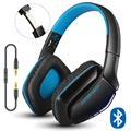 Kotion Each B3506 Bluetooth Wireless Headphones - Black/Blue
