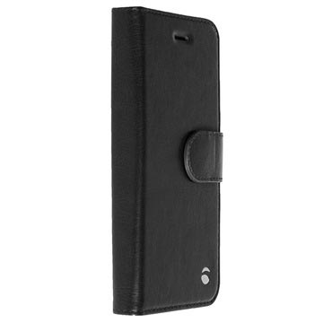 iPhone 5/5S/SE Krusell Ekero 2-in-1 Wallet Case - Black