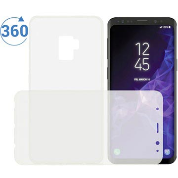 Samsung Galaxy S9 Ksix Flex 360 Protection TPU Cover - Transparent