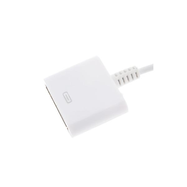 Compatible Lightning / 30-pin Adapter & Cable - iPhone 6 / 6S, iPad Pro - White