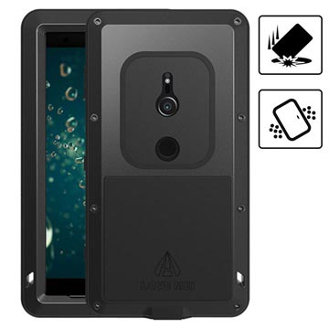 Love Mei Powerful Sony Xperia XZ2 Hybrid Case - Black
