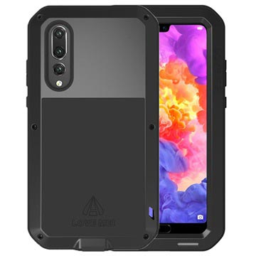 Love Mei Powerful Huawei P20 Pro Hybrid Case - Black
