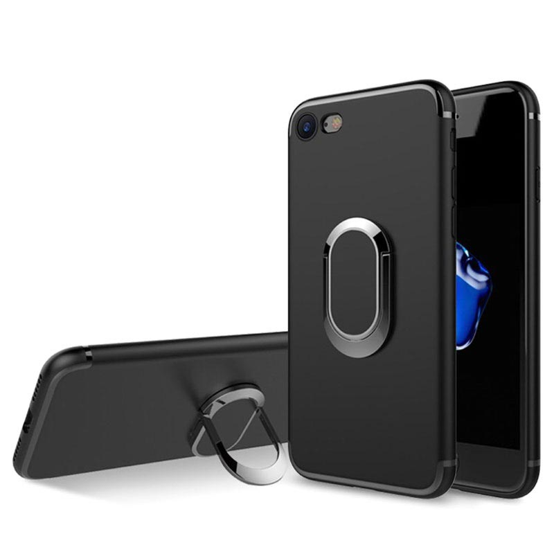 iPhone 7/8/SE (2020) Magnetic Ring Grip Case