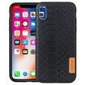 Meleovo Pattern Series iPhone XR Hybrid Case