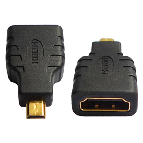 Micro HDMI Type D Male / HDMI Type A Female Adapter