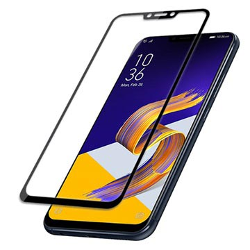 Mocolo Full Coverage Asus Zenfone 5 ZE620KL Tempered Glass Screen Protector - Black