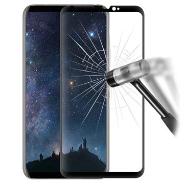 Mocolo Full Coverage LG V30 Tempered Glass Screen Protector - Black