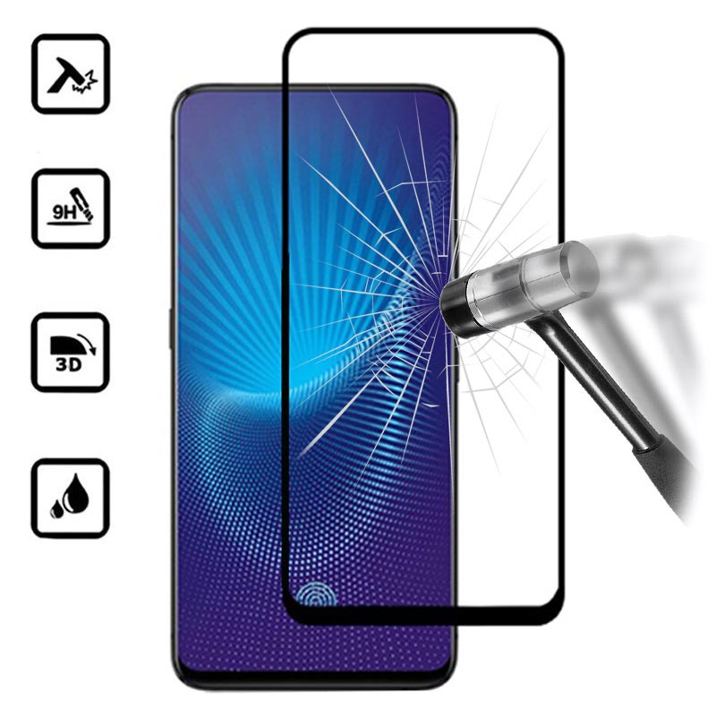 new styles 106bf e55ef Mocolo Full Cover Vivo NEX A, Vivo NEX S Tempered Glass - Black