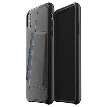 Mujjo Full Leather iPhone XS Max Wallet Cover