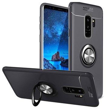 innovative design 3c6b0 8de5f Samsung Galaxy S9+ Magnetic Ring Grip Case - Black