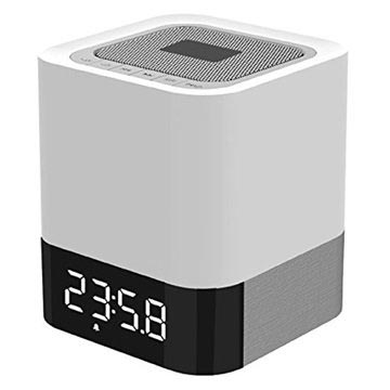 Musky DY28 Bluetooth Speaker & Alarm Clock with LED light