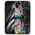 iPhone X / iPhone XS NXE Unique Series TPU Case - Dragonfly - Pink