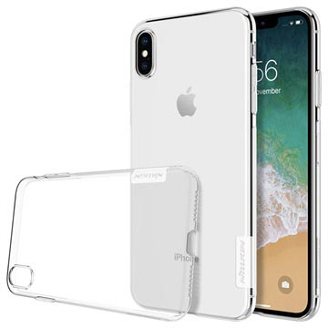 Nillkin Nature 0.6mm iPhone XS Max TPU Case - Transparent