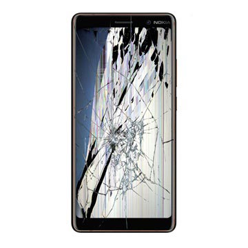 Nokia 7 plus LCD and Touch Screen Repair - Black