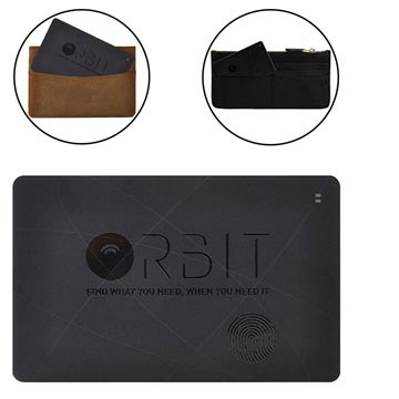 Orbit Card Bluetooth Tracker - Black