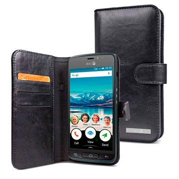 low priced be991 67919 Doro 8040 Wallet Case - Black