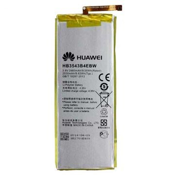 Huawei Ascend P7, Ascend P7 Sapphire Edition Battery HB3543B4EBW