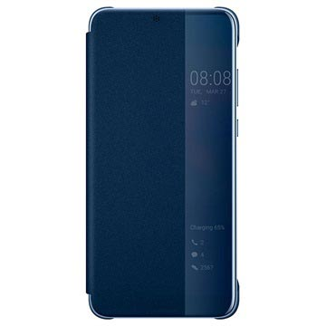 Huawei P20 Pro Smart View Flip Case 51992368 - Blue
