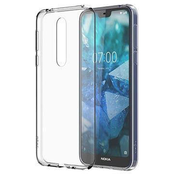 Nokia 7.1 Slim Crystal Cover CC-170 - Transparent