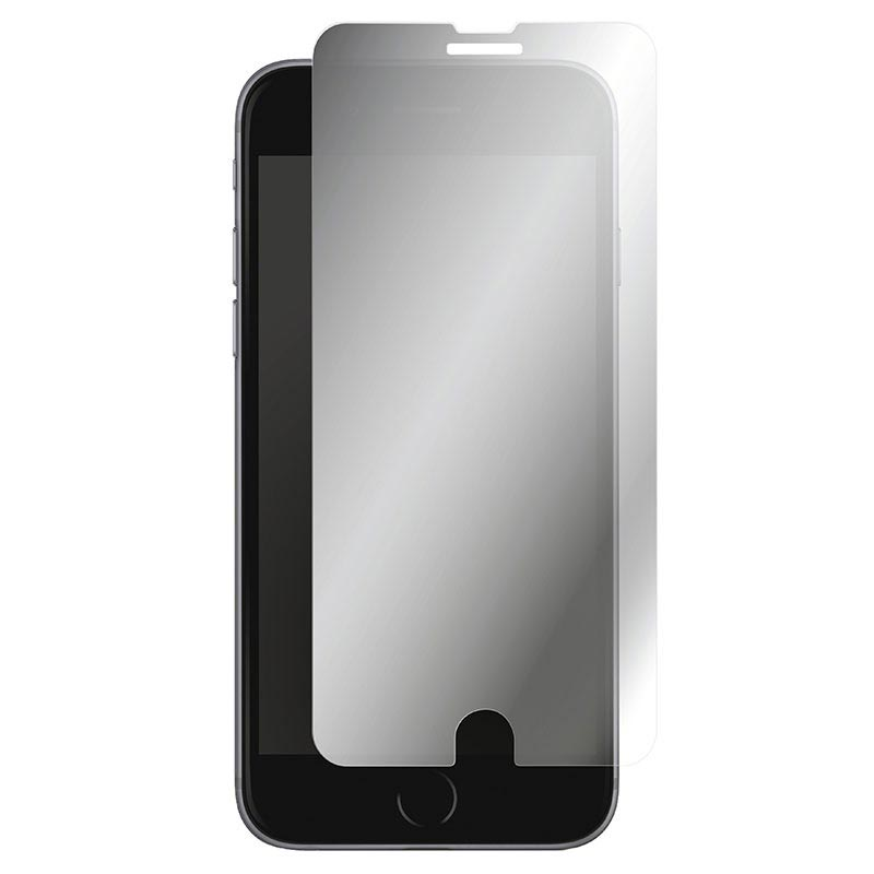 iPhone 6/6S/7/8 Panzer Tempered Glass Mirror Screen Protector