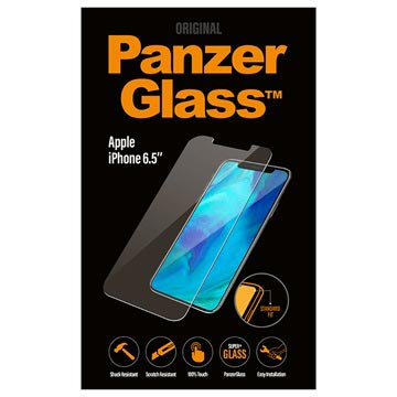 PanzerGlass iPhone XS Max Tempered Glass Screen Protector - Clear
