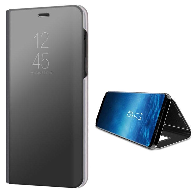 reputable site 4131a 7178f Samsung Galaxy A8 (2018) Luxury Mirror View Flip Case