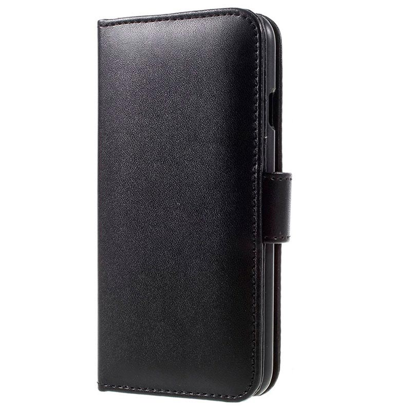 iPhone 7/8/SE (2020) Premium Wallet Case with Stand Feature - Black
