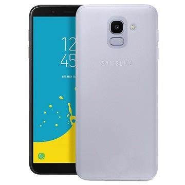 new product 15db8 8874a Puro 0.3 Nude Samsung Galaxy J6 TPU Cover - Transparent