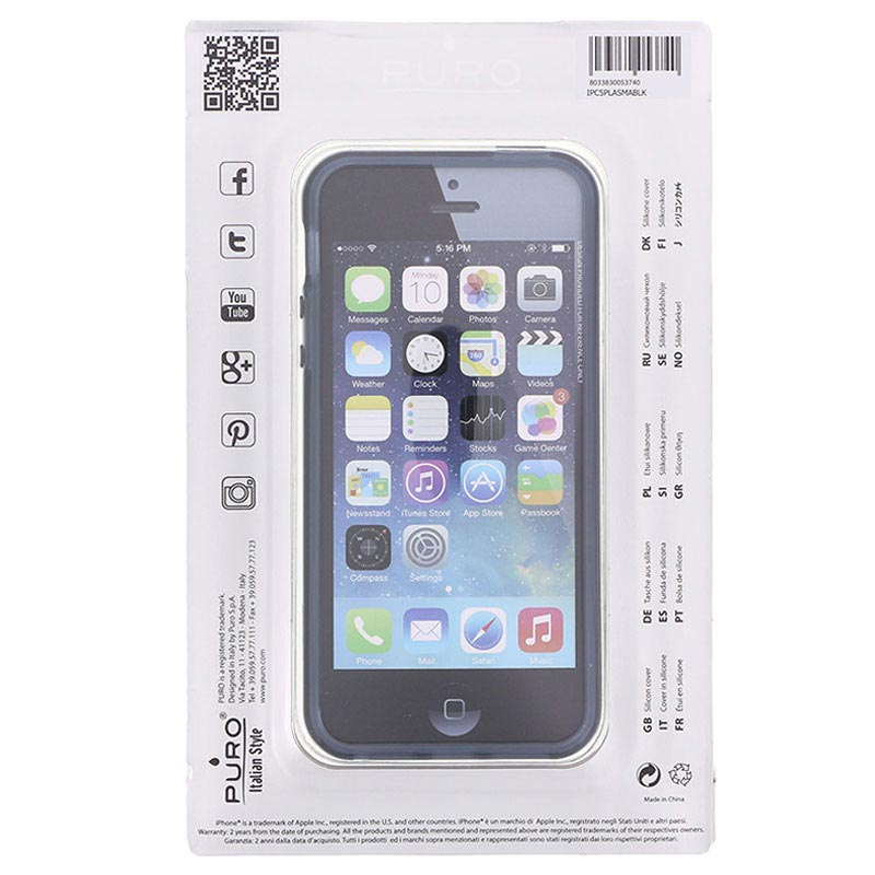 iPhone 5 / 5S / SE Puro Click-On Cover
