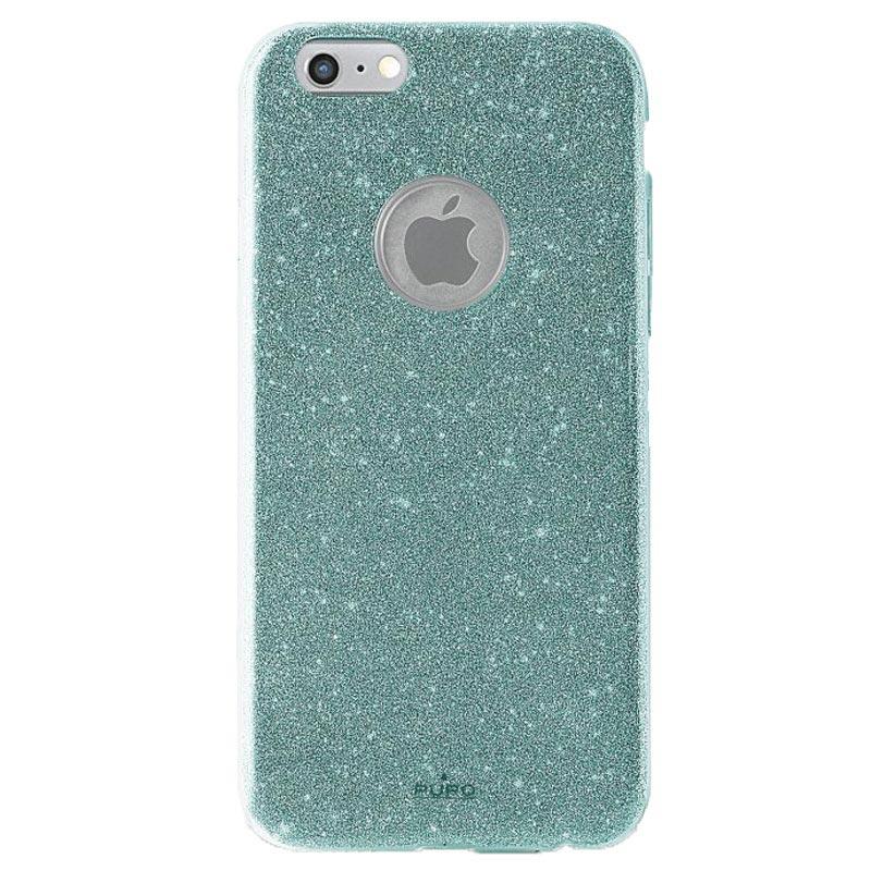 iPhone 6 \/ 6S Puro Glitter Shine Case - Light Blue