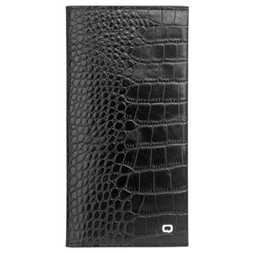 quality design b2eb2 2fec3 Qialino Universal Wallet Leather Case - Crocodile