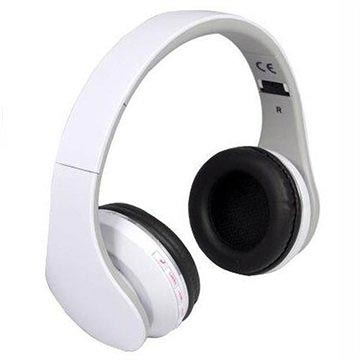 Rebeltec Pulsar Bluetooth Stereo Headset - White