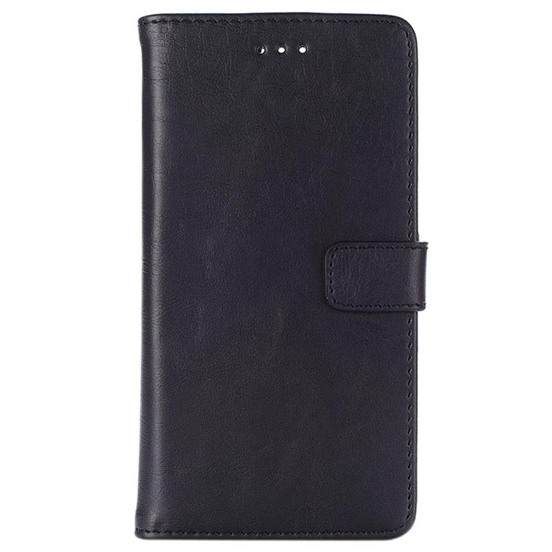 Huawei P9 Retro Wallet Case - Black