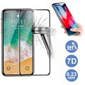 Rock 7D Cold Carving iPhone XS Max Tempered Glass Screen Protector - Black