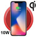 Rock W4 Pro Quick Qi Wireless Charger - 10W - Red